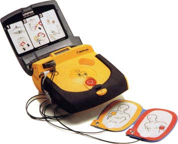 portable defib machine