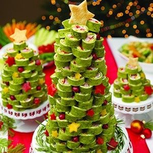 Cook's Ham Tortilla RollUp Christmas Tree