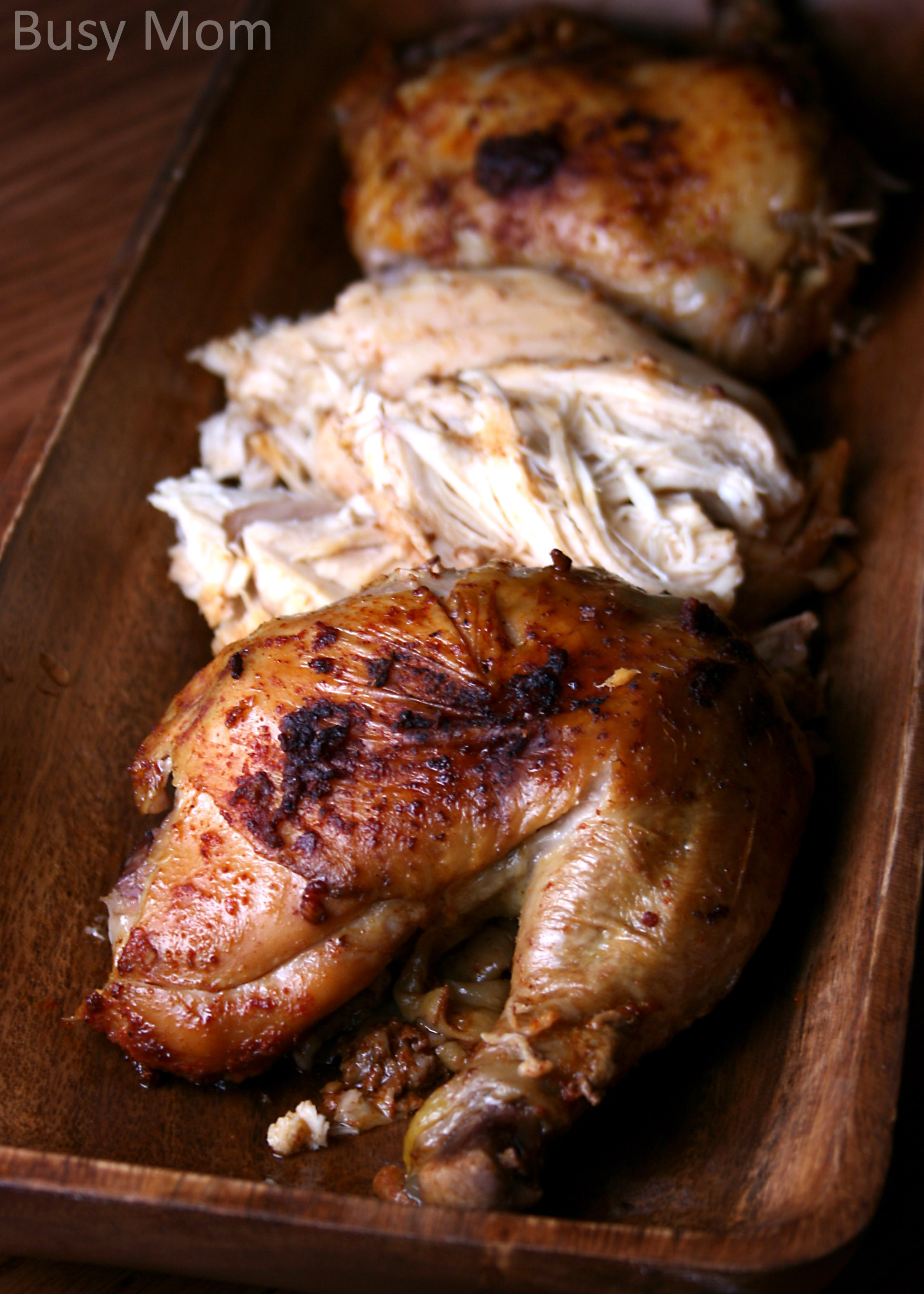 Slow Cooker Rotisserie Chicken Busy Mommy