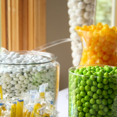 Do-It-Yourself Candy and Dessert Table