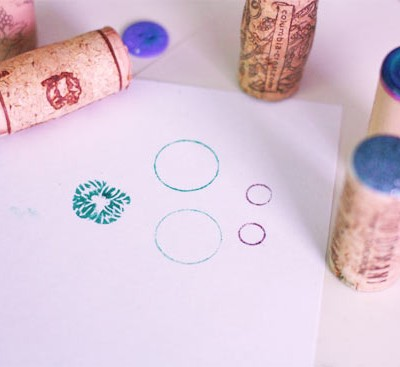 How To Make Button Stamps