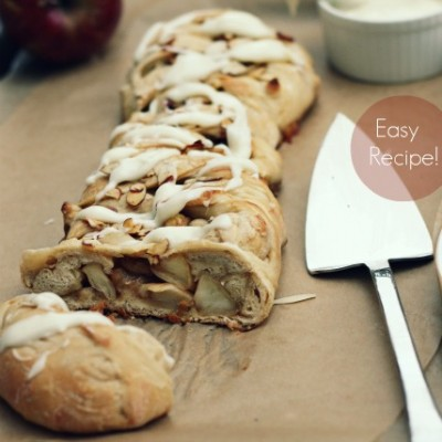 Apple Dessert Braid