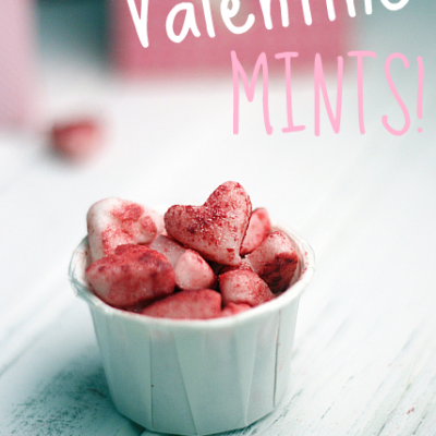 Homemade Valentine's Day Mints