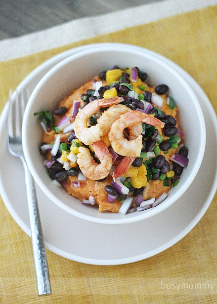 Nick's Chipotle Grilled Shrimp With Black Bean Salsa ...