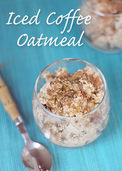 Iced Coffee Refrigerator Oatmeal