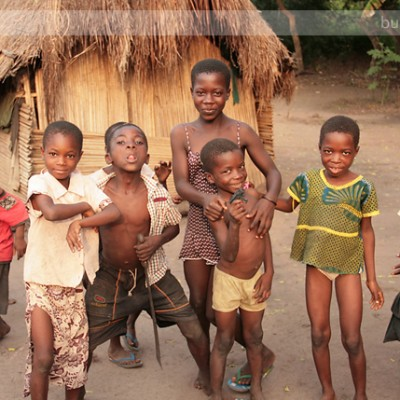 A Typical Ghanaian Village