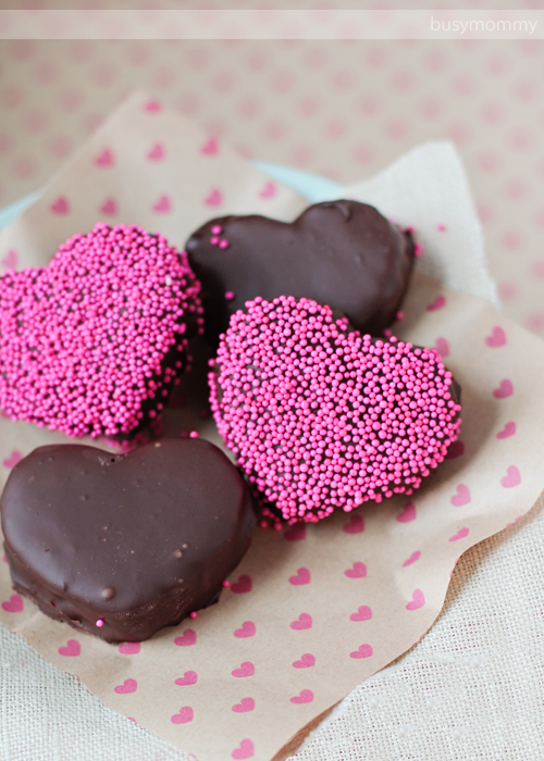 Chocolate Strawberry OREO Truffles for Valentine's Day!