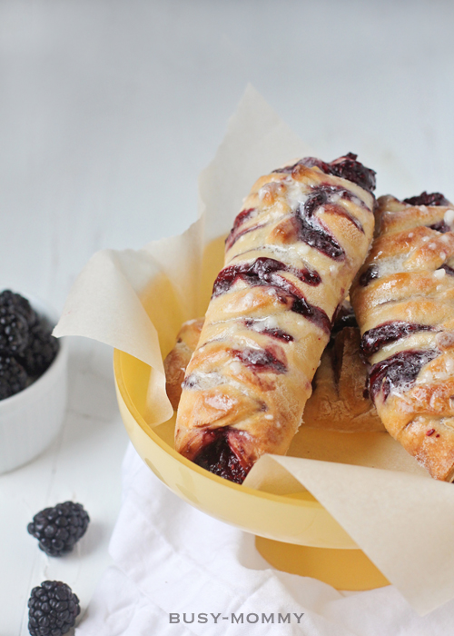 Super Easy Mixed Berry Braided Hand Pies!