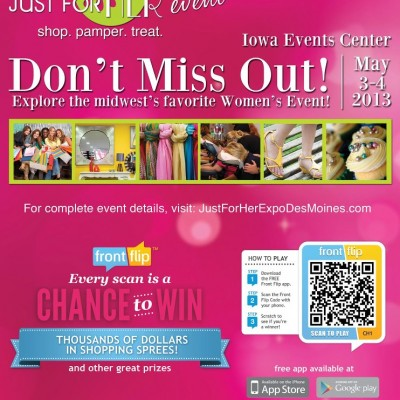 Just For Her Expo This Friday & Sat! #DesMoines