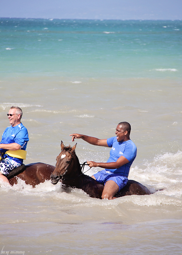 Bucket List: Horseback riding in the ocean!