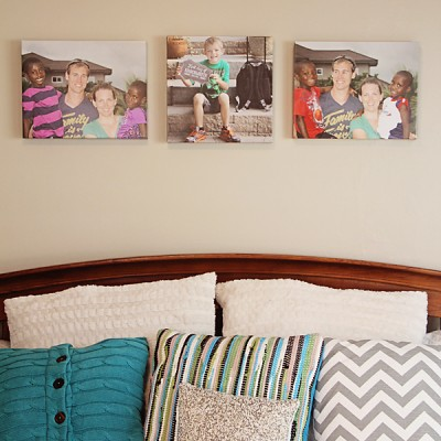 FAUX Canvas. Easy, Inexpensive, & Same Day!