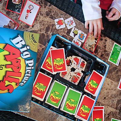 New Apples to Apples Big Picture Family Game