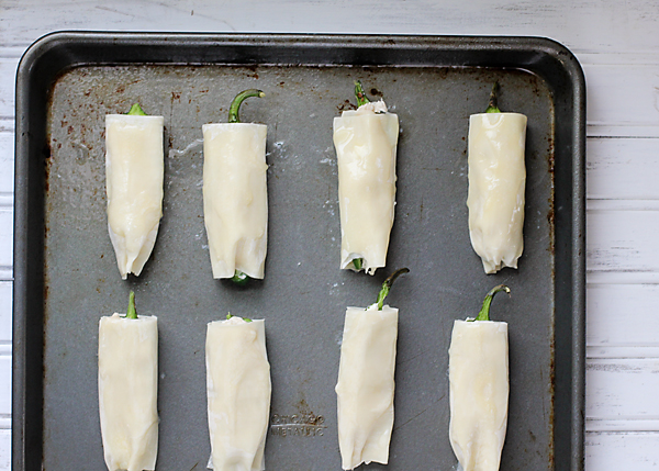 Wonton Wrapped Jalapeno Poppers