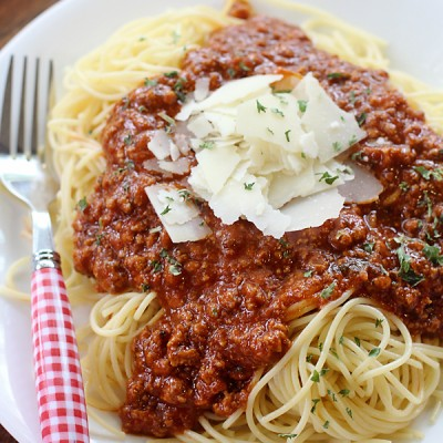Homemade Freezable Spaghetti Sauce