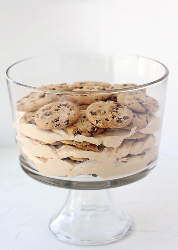 Pumpkin Chocolate Chip Cookie Dough Tiramisu!