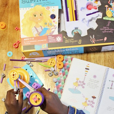 Inspire Future Girl Innovators with GoldieBlox