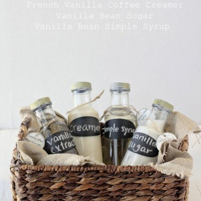 DIY Vanilla Bean Gift Set
