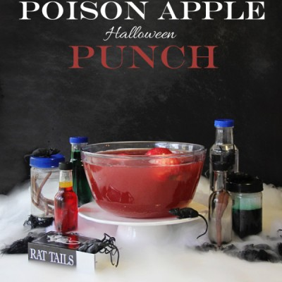 Poison Apple Halloween Punch