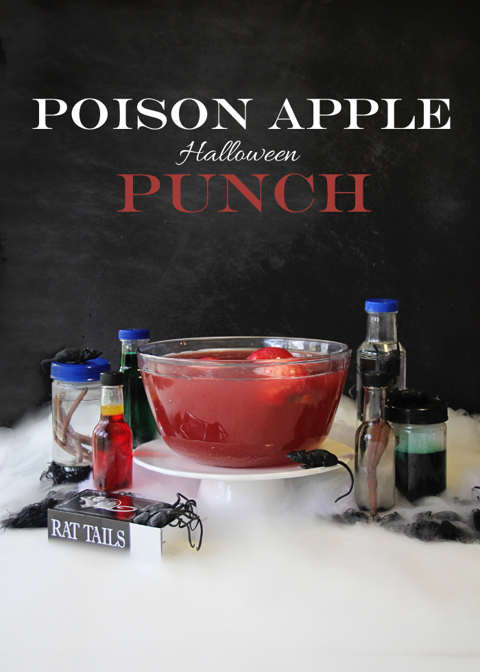 Poison Apple Halloween Punch.