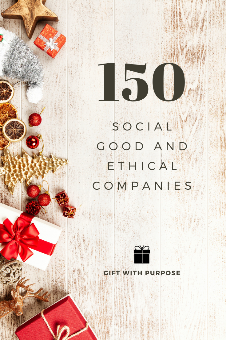 HUGE List of Ethical and Social Good Companies. Save for Christmas gifts!!