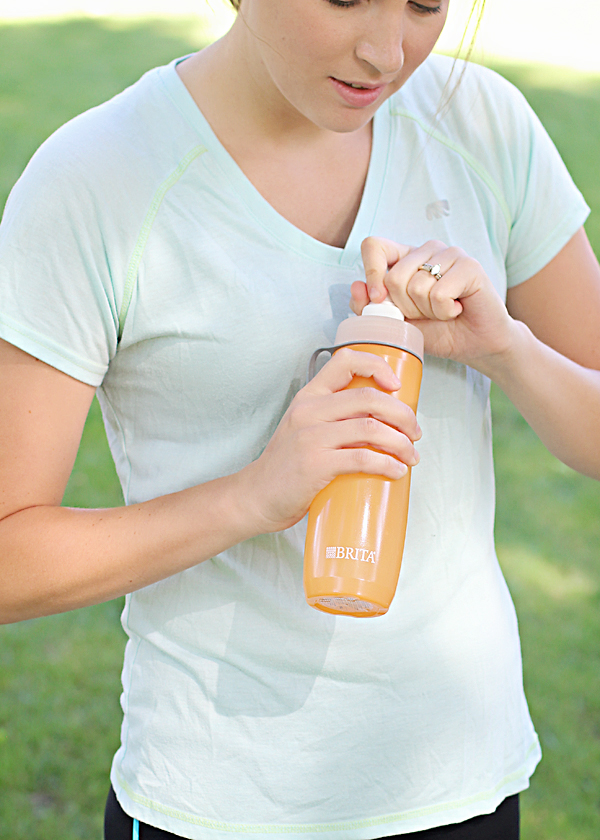 Brita Filtered Water Bottles for on-the-go filtration.