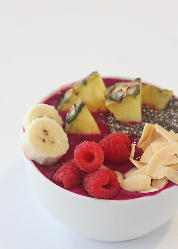 Pitaya Smoothie bowl.