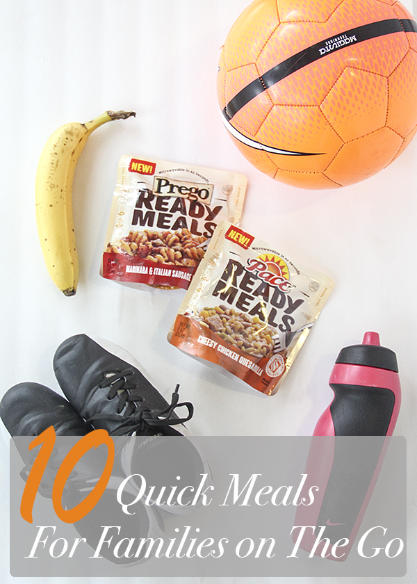 10 Quick Meals For Families On The Go