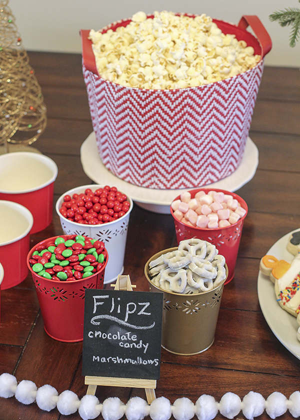 Family Movie Night Hot Chocolate And Popcorn Bar Busy Mommy