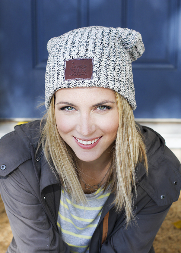Love Your Melon Beanies! For every hat sold, they donate a hat to a child battling cancer.