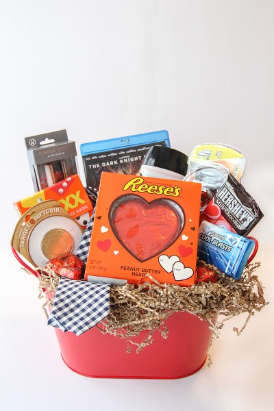 Valentine's Day Gift Basket Idea For Him