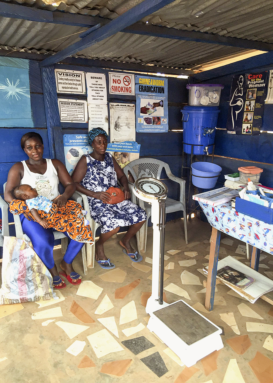 Rural Maternity Home in Ghana