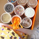 Pop-Up Party Boxes from Orange Leaf