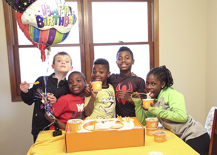 Have Orange Leaf at Your Birthday Party!