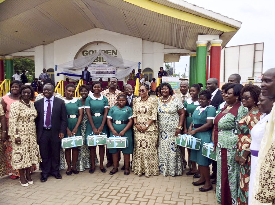 Midwives in Ghana.