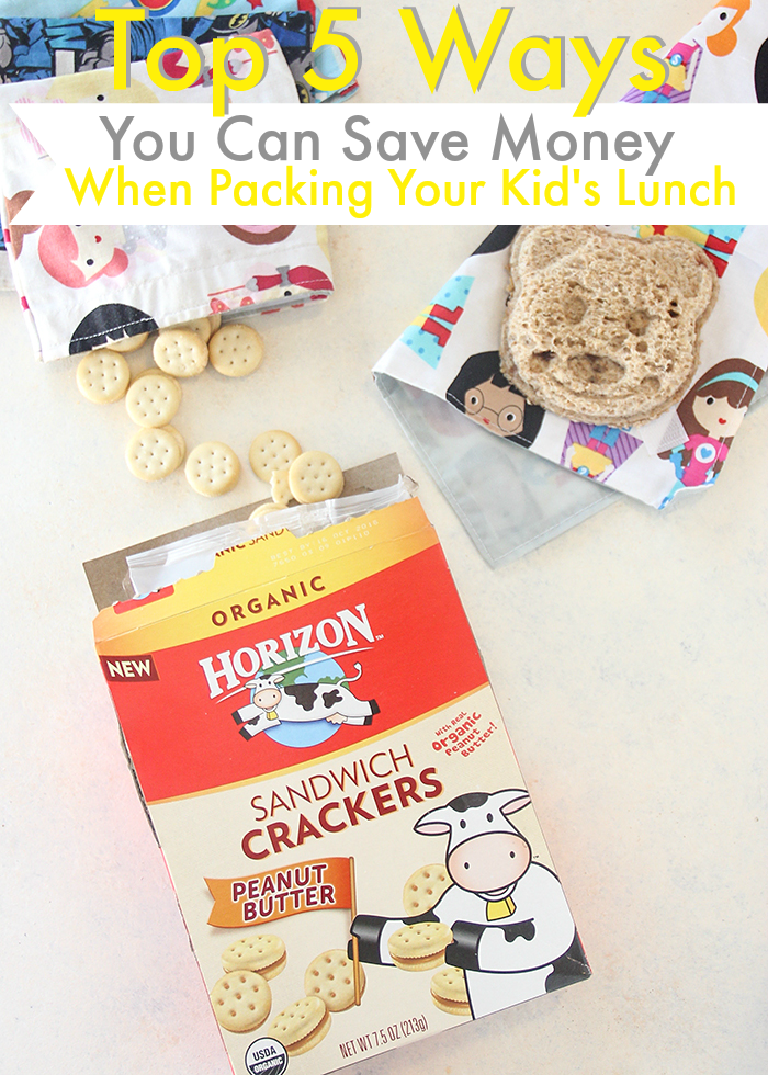 Top 5 Ways You Can Save Money When Packing Your Kid's Lunch.... I'm saving this for this school year...