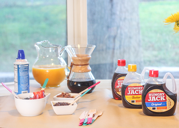 DIY Pancake Bar