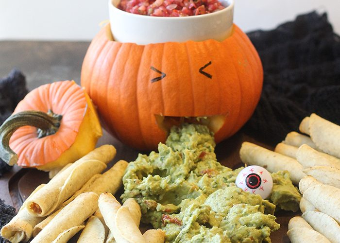 Fun and Easy Halloween Appetizer Display!