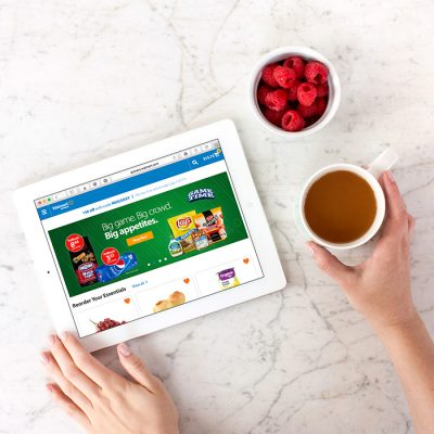Convenient Online Grocery Ordering at Walmart