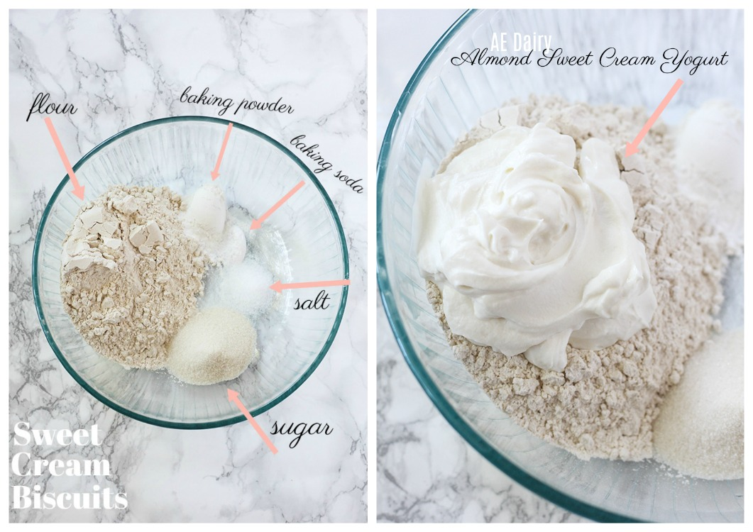 Sweet Cream Biscuit Ingredients