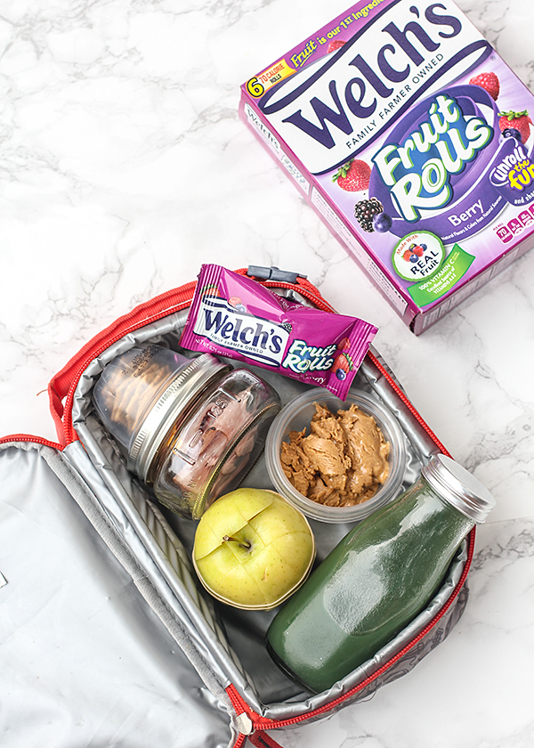 Welch's Fruit Rolls in Lunch Box