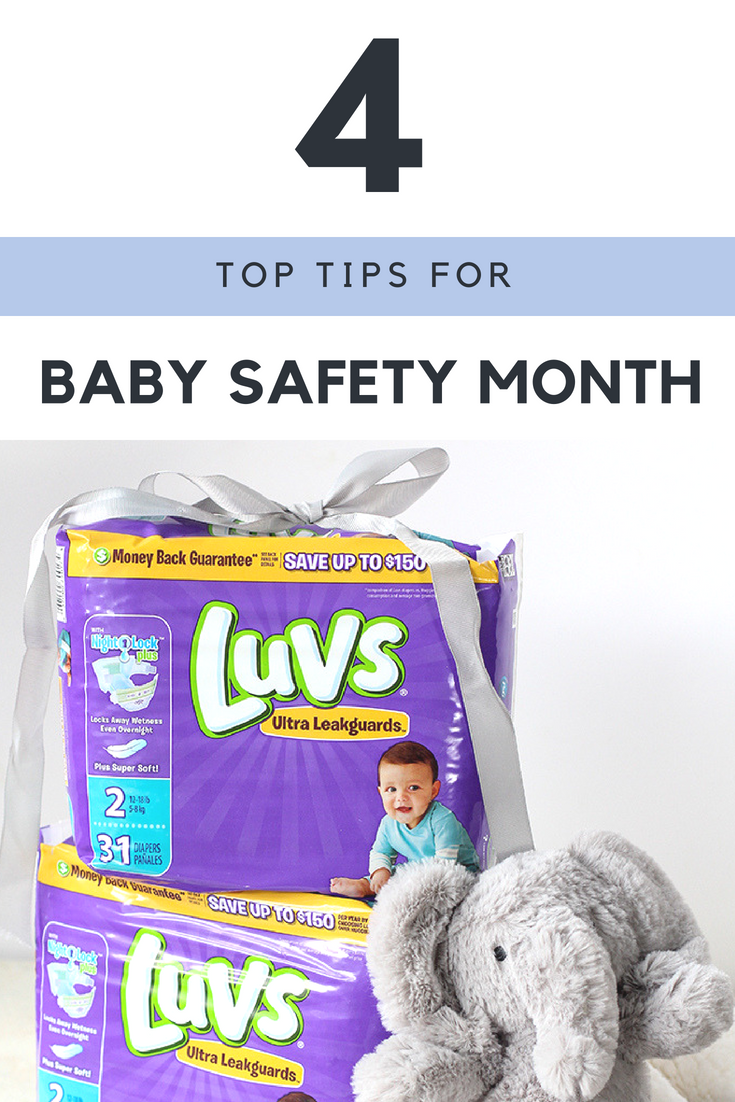 4 Top Tips for Baby Safety Month