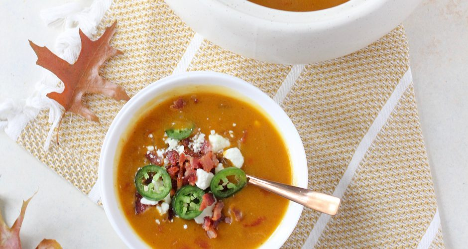 Spicy Pumpkin Soup in 30 Minutes