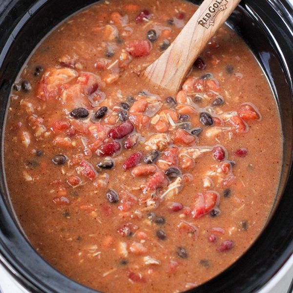 Slow Cooker Thanksgiving Leftovers Chili